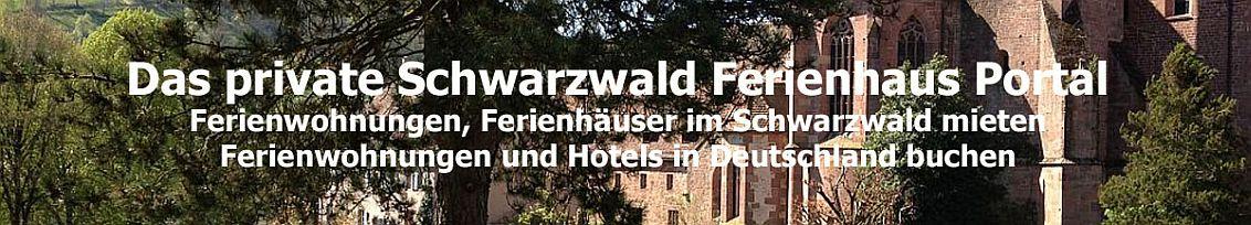 Das Schwarzwald Ferienhaus Portal